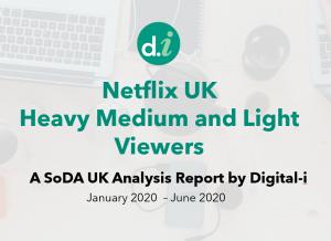 Heavy, Medium and Light Viewership Netflix report