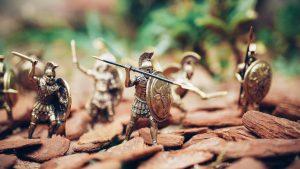 Streaming wars miniature battle